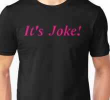 """It's Joke!"" - Mari Ohara (Pink) Unisex T-Shirt"