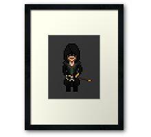 Pixel Jacob Framed Print
