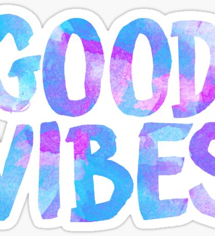 Good vibes laptop sticker free spirit trendy  Sticker