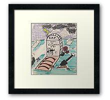 Kimo Da KakaRoach RIP Framed Print