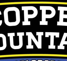 COPPER MOUNTAIN COLORADO Ski Skiing Mountain Mountains Skiing Skis Silhouette Snowboard Snowboarding 3 Sticker