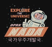 Nada - North Korean Space Agency Baby Tee