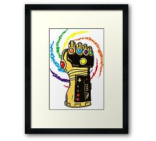 Infinity Power Framed Print