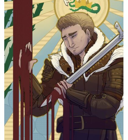 "Alistair: ""Long Live the King"" Sticker"