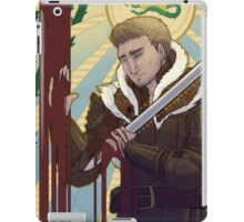"""Alistair: """"Long Live the King"""" iPad Case/Skin"""