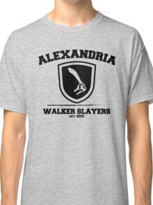 The Walking Dead - Alexandria Walker Slayers Classic T-Shirt