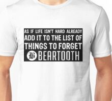 Beartooth Lyrics Unisex T-Shirt