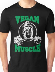 Vegan Muscle Unisex T-Shirt