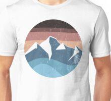mountain souvenir logo vintage Unisex T-Shirt