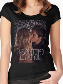 Haleb: I never stopped loving you Women's Fitted Scoop T-Shirt