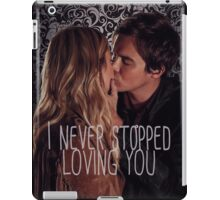 Haleb: I never stopped loving you iPad Case/Skin