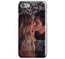 Haleb: I never stopped loving you iPhone Case/Skin