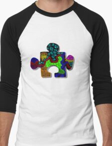 Piece of the Puzzle Men's Baseball ¾ T-Shirt