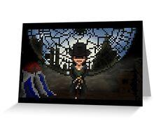 Pixel Jacob  Greeting Card
