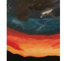 Sunset Horizon Photographic Print