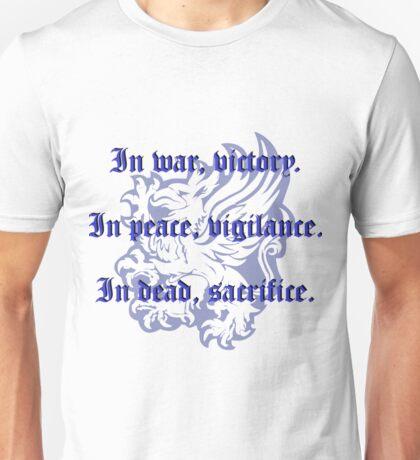 Grey Warden motto Unisex T-Shirt