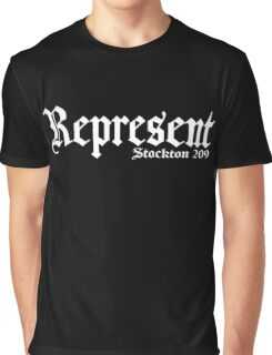 Represent stockton 209 MMA Graphic T-Shirt
