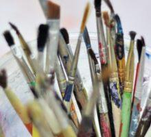 Art Room Brushes Sticker