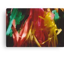Sunlit Streamers Canvas Print