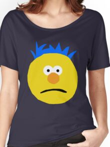 Yellow Guy Don't Hug Me I'm Scared Women's Relaxed Fit T-Shirt