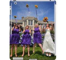 In the air iPad Case/Skin