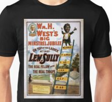 Performing Arts Posters Wm H Wests Big Minstrel Jubilee 1786 Unisex T-Shirt