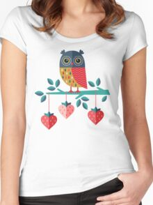 Owl Always Love You Women's Fitted Scoop T-Shirt