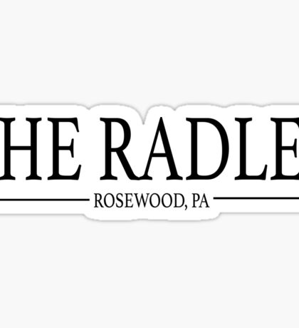 Pretty Little Liars - The Radley Sticker