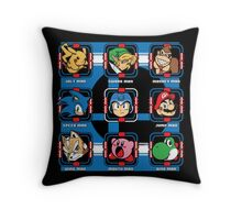Mega Smash Throw Pillow