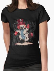 Frosty the Snowman Womens Fitted T-Shirt