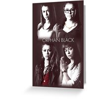 Orphan Black Greeting Card