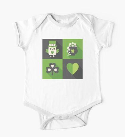 Irish Eyes Are Smiling One Piece - Short Sleeve