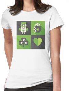 Irish Eyes Are Smiling Womens Fitted T-Shirt