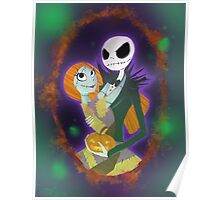 The Pumpkin King and Queen Poster