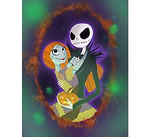 The Pumpkin King and Queen Photographic Print