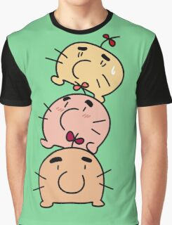 Mr. Saturn Stack Graphic T-Shirt