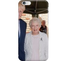 June Whitfield  & Boris Johnson iPhone Case/Skin