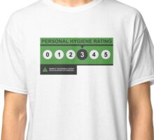 Hygiene Rating - THREE Classic T-Shirt
