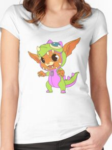 Dino Gnar Women's Fitted Scoop T-Shirt