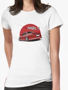 Toyota Mark II (X90) (red) Womens Fitted T-Shirt