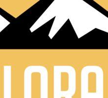 EXPLORE COLORADO USA MOUNTAINS BIKING HIKING CAMPING CLIMBING Sticker