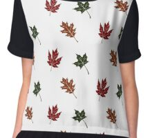 Leaves of the Fall Chiffon Top