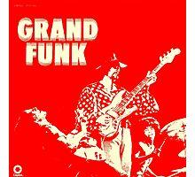 Grand Funk Railroad  Photographic Print