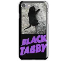 Black Tabby  iPhone Case/Skin