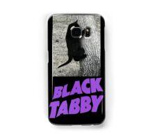 Black Tabby  Samsung Galaxy Case/Skin