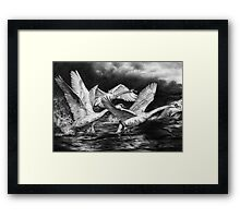 Co-Ordinated Chaos Framed Print