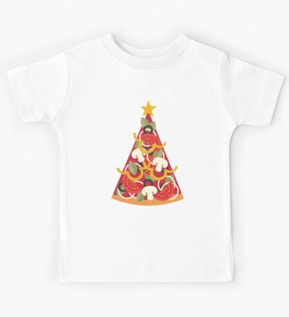 Pizza on Earth - Vegetarian Kids Tee