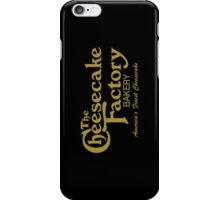 The Cheesecake Factory - Gold Bakery Variant iPhone Case/Skin
