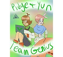 Team Genius Photographic Print