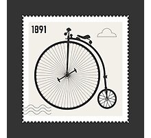 Penny Farthing 1891 Photographic Print